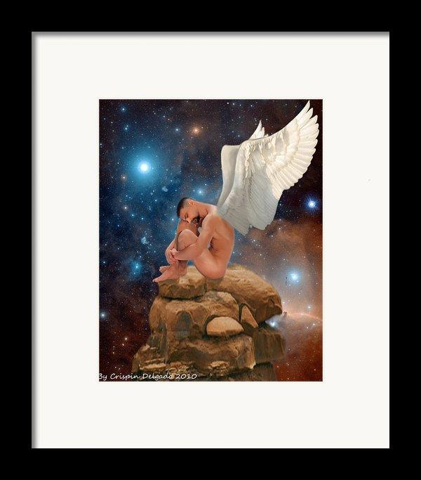 Cosmic Skies Framed Print By Crispin  Delgado