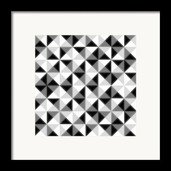 Count The Squares Framed Print By Ron Brown