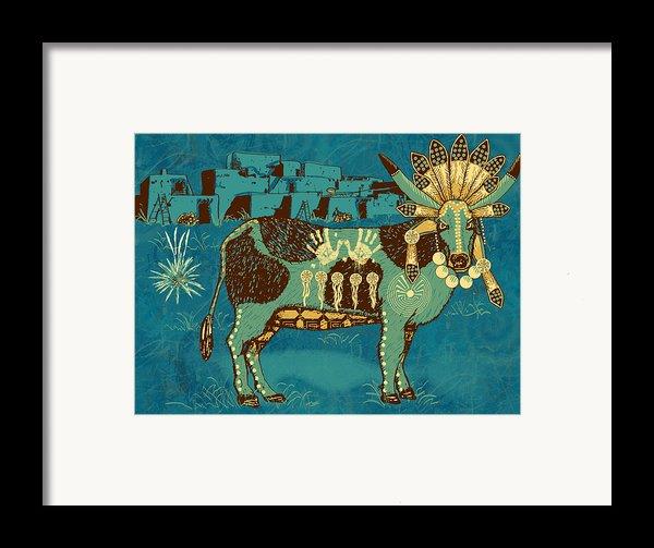 Cowchina Framed Print By Laura Brightwood