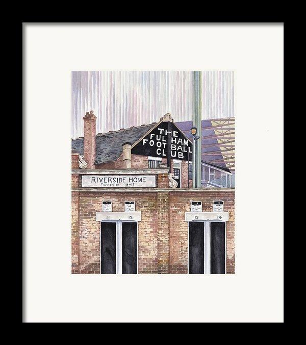 Craven Cottage Framed Print By Scott Nelson