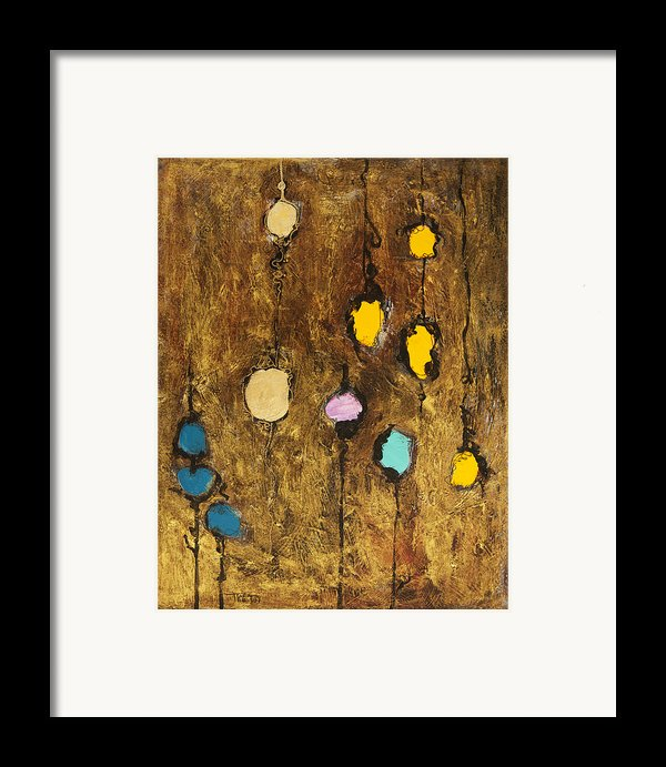 Dangling Blossoms Framed Print By Tara Thelen