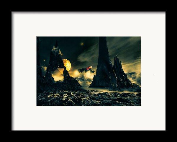 Dark Planet Framed Print By Bob Orsillo