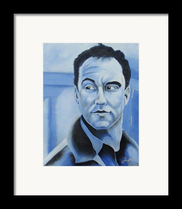 Dave Matthews - Some Devil  Framed Print By Joseph Palotas