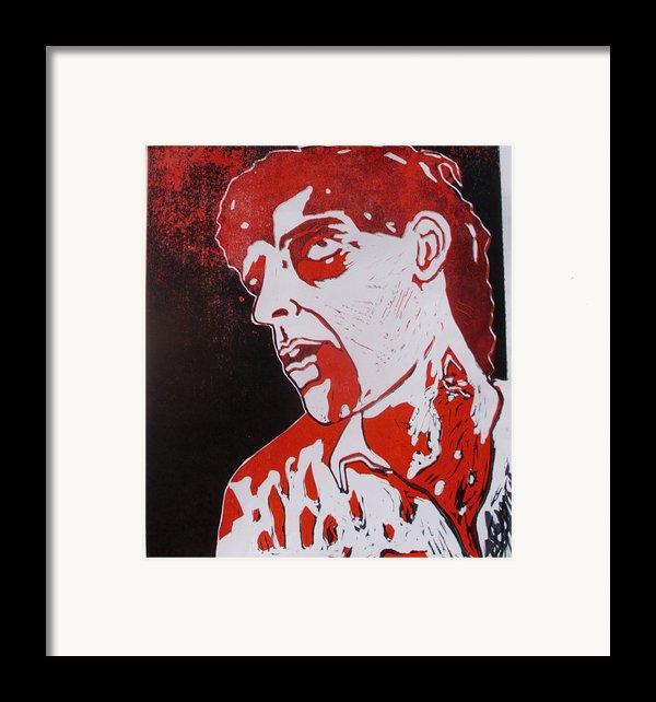 Dawn Of The Dead Print 1 Framed Print By Sam Hane