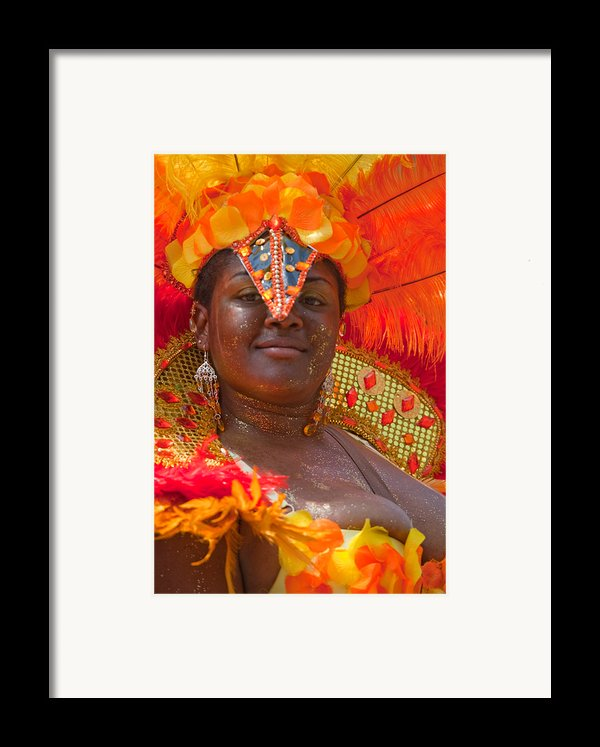 Dc Caribbean Carnival No 24 Framed Print By Irene Abdou