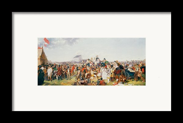 Derby Day Framed Print By William Powell Frith