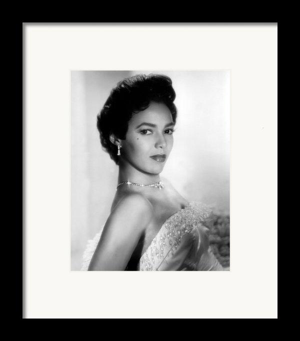 Dorothy Dandridge, No Date Framed Print By Everett