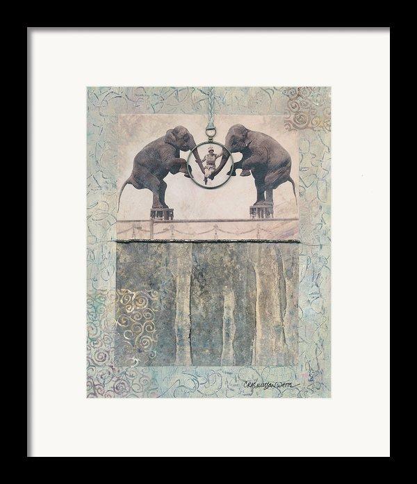 Dream Of Love Framed Print By Casey Rasmussen White