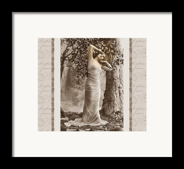 Dream Of The Night Framed Print By Mary Morawska
