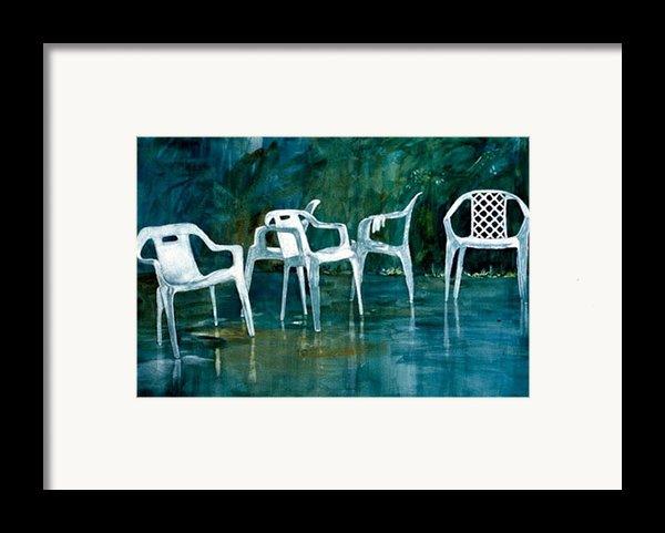 Drip Dry Framed Print By Elizabeth Carr