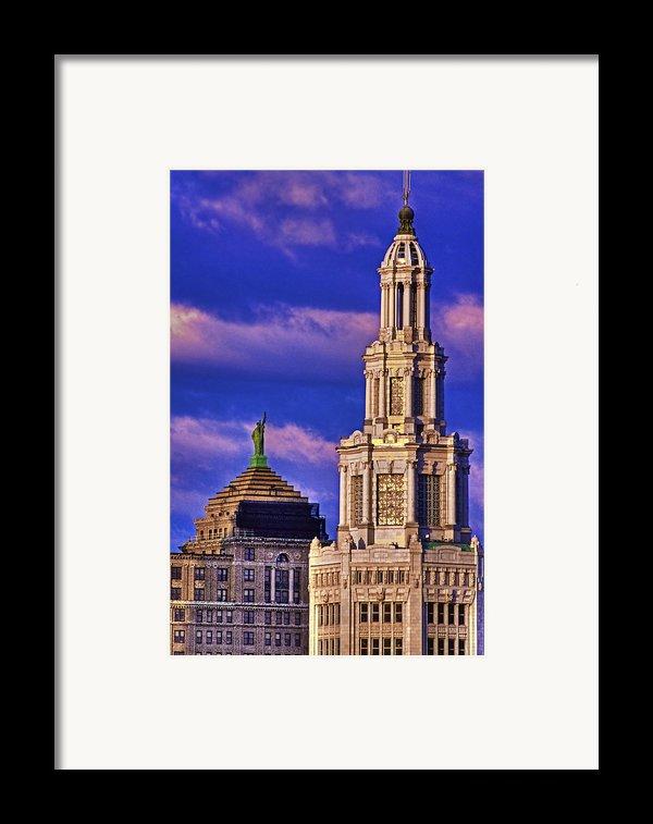 Electric Liberty Framed Print By Don Nieman