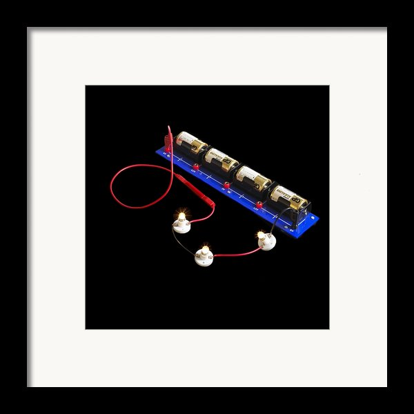 Electrical Circuit Framed Print By