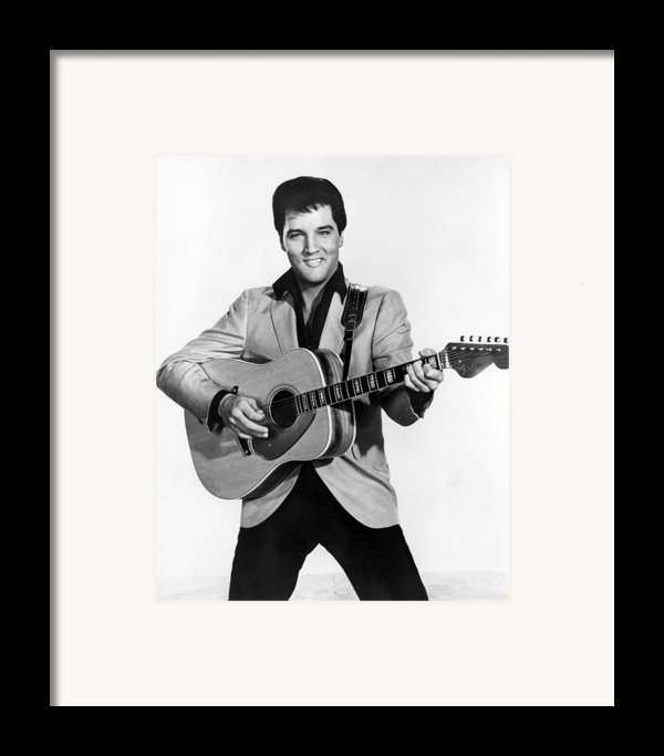 Elvis Presley, C. Mid-1960s Framed Print By Everett