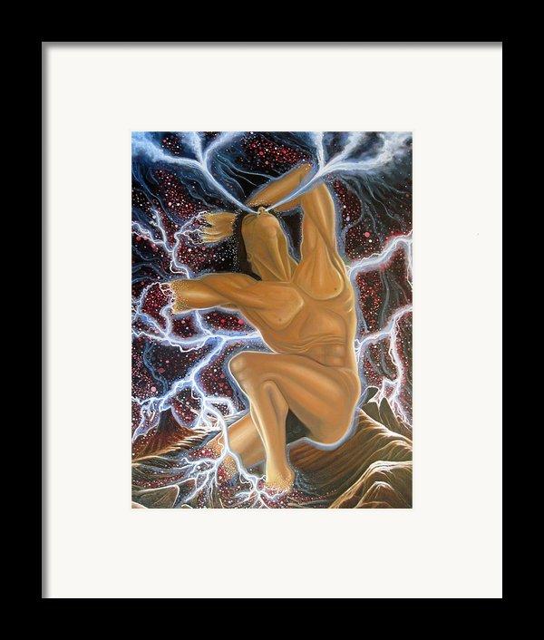 Emergence Framed Print By Rick Mittelstedt