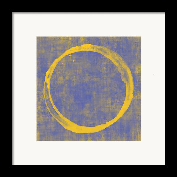 Enso 1 Framed Print By Julie Niemela