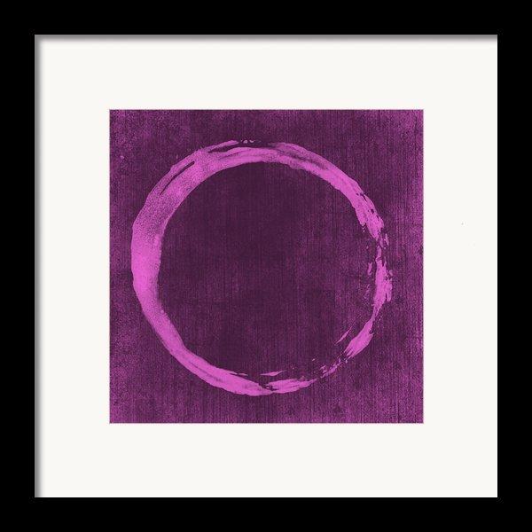 Enso 4 Framed Print By Julie Niemela