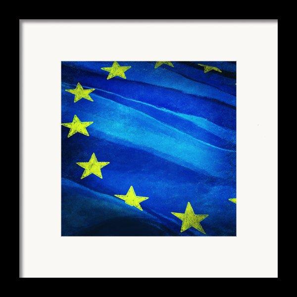 European Flag Framed Print By Setsiri Silapasuwanchai