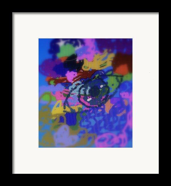 Eye Framed Print By Cybele Chaves