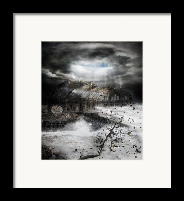 Eye Of The Storm Framed Print By Karen K