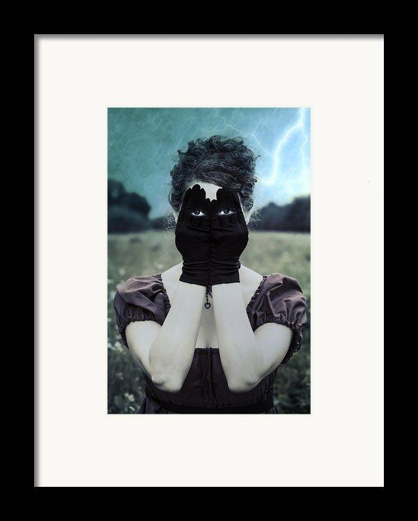Eyes Framed Print By Joana Kruse