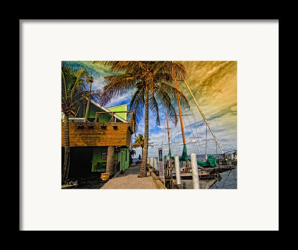 Fisherman Village Framed Print By Gina Cormier