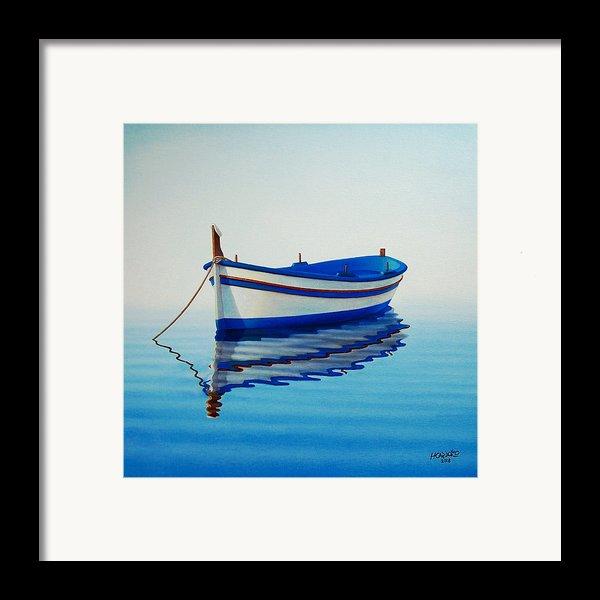 Fishing Boat Ii Framed Print By Horacio Cardozo