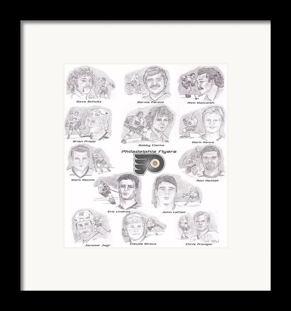 Flyer Greats Framed Print By Chris  Delvecchio