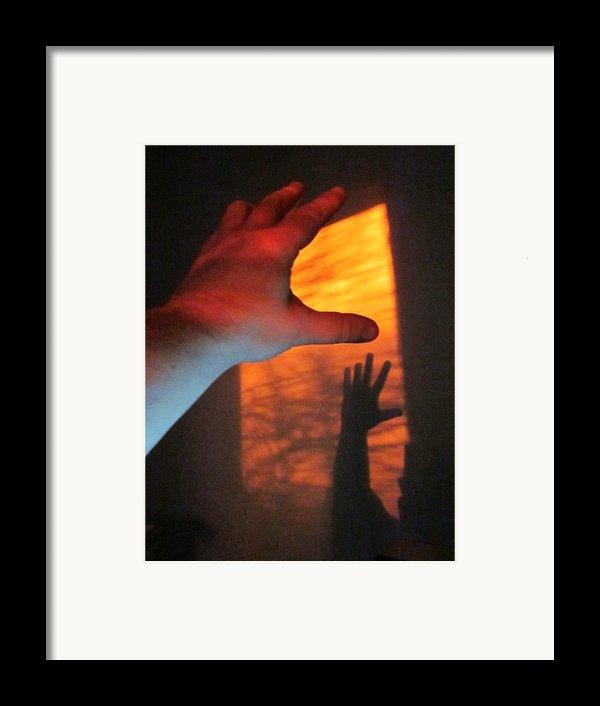 Forever Living Hands Framed Print By Guy Ricketts
