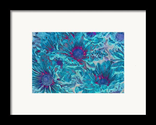 Foulee De Petales - A01t Framed Print By Variance Collections