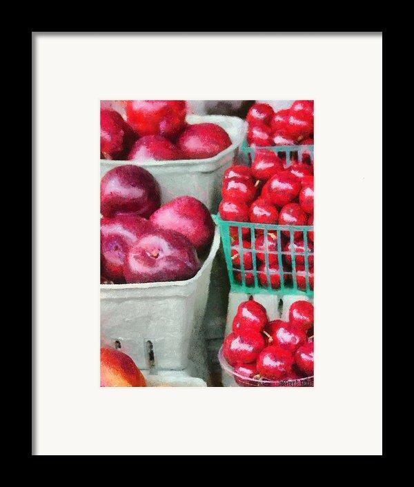 Fresh Market Fruit Framed Print By Jeff Kolker