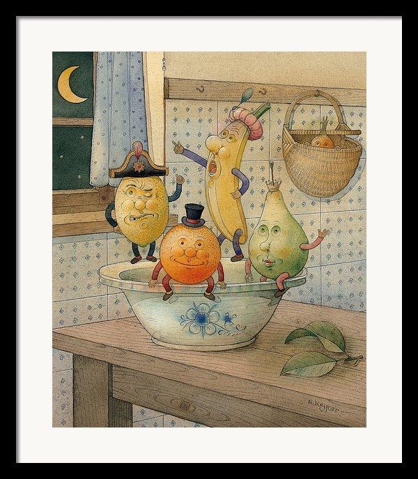 Fruits Framed Print By Kestutis Kasparavicius