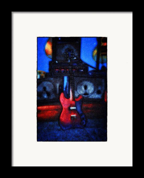 Garage Rock Framed Print By Bill Cannon