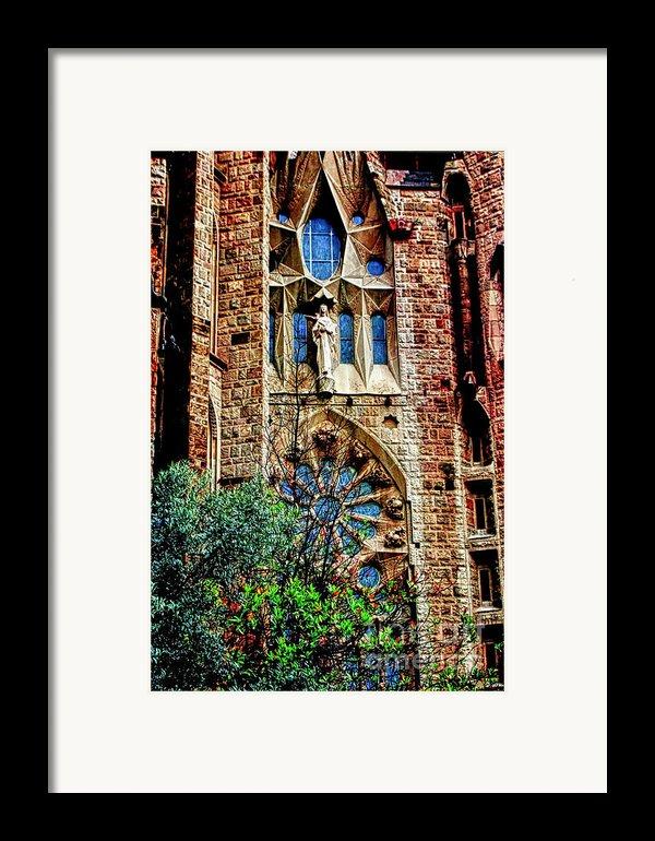 Gaudi Barcelona Framed Print By Tom Prendergast