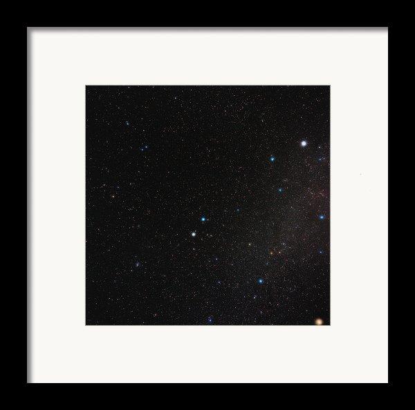 Gemini Constellation Framed Print By Eckhard Slawik