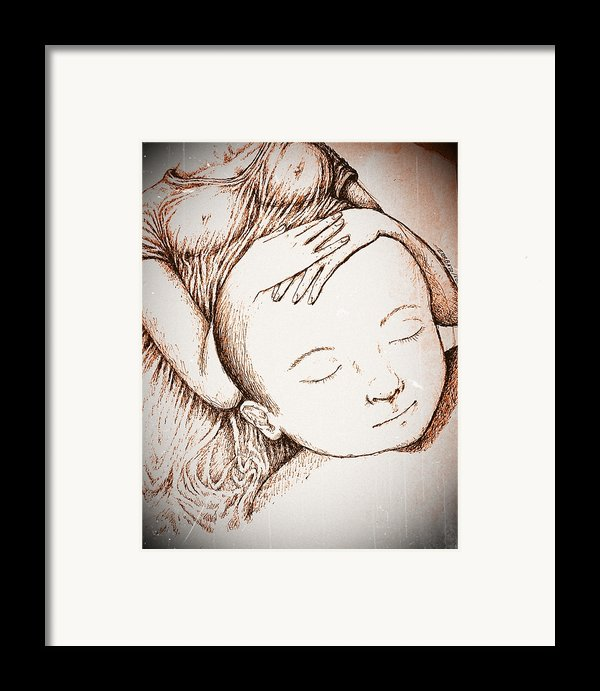 Gestating The Future Framed Print By Paulo Zerbato