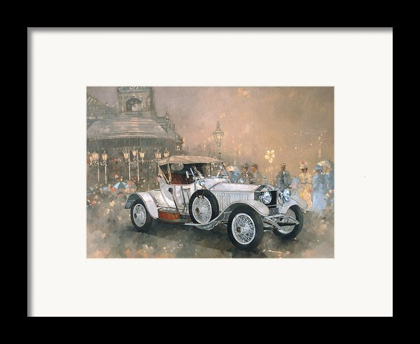 Ghost In Scarborough  Framed Print By Peter Miller