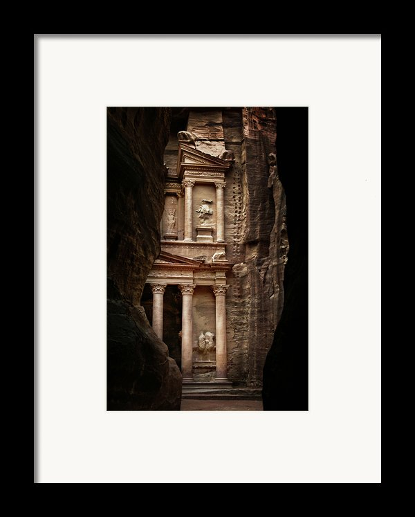 Glimpse Of Treasury Framed Print By David Lazar