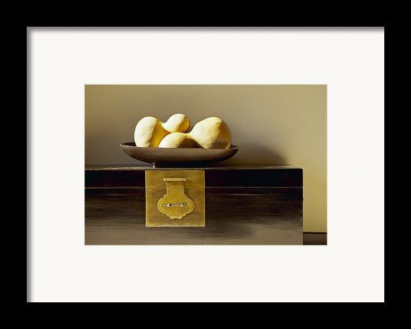 Gourds Still Life I Framed Print By Kyle Rothenborg - Printscapes