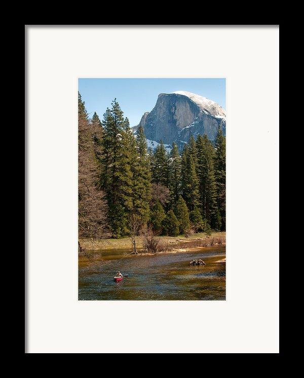 Half Dome Yosemite Framed Print By Tom Dowd