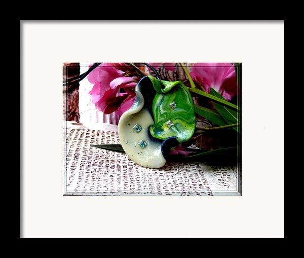 Handmade Art In Nature Framed Print By Chara Giakoumaki