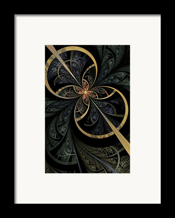 Hidden Depths Framed Print By John Edwards