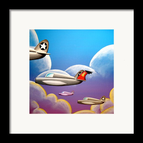 Hold On Tight Framed Print By Cindy Thornton