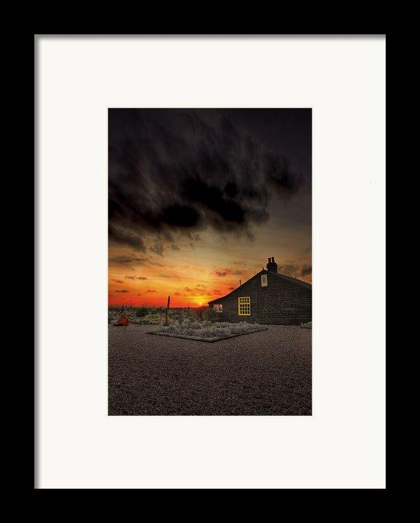 Home To Derek Jarman Framed Print By Lee-anne Rafferty-evans