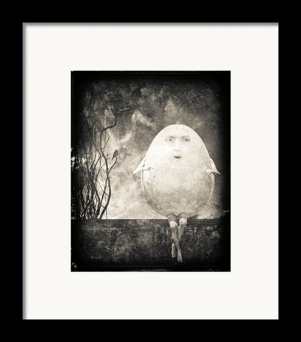 Humpty Dumpty Framed Print By Bob Orsillo