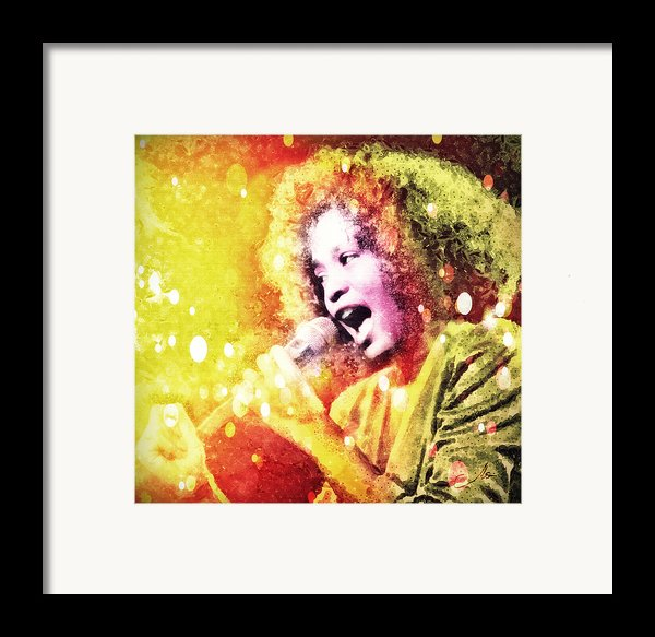 I Will Always Love You Framed Print By Mo T