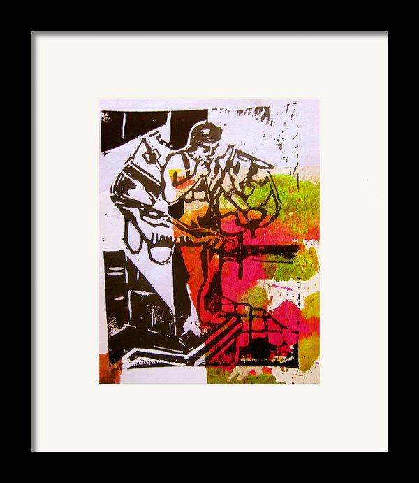 Icarus Ii Framed Print By Adam Kissel