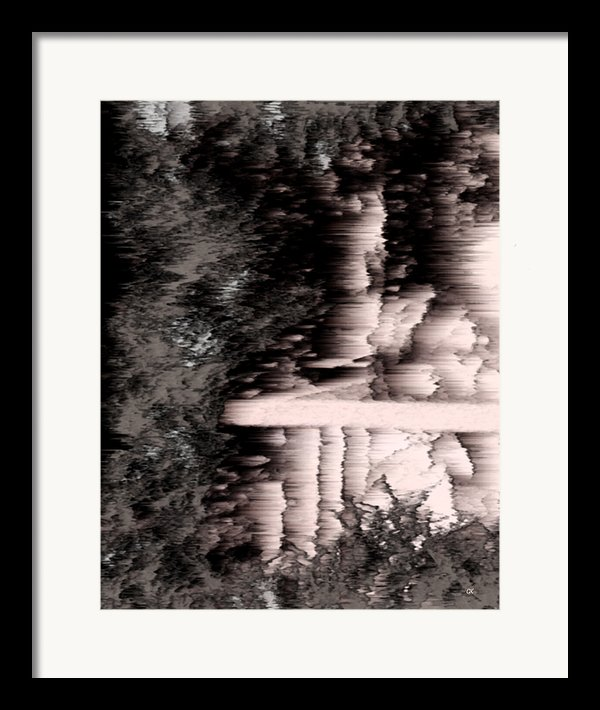 Illusion Framed Print By Gerlinde Keating - Keating Associates Inc