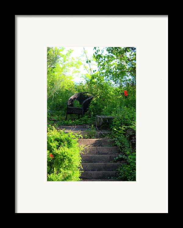 In The Garden Framed Print By Teresa Mucha