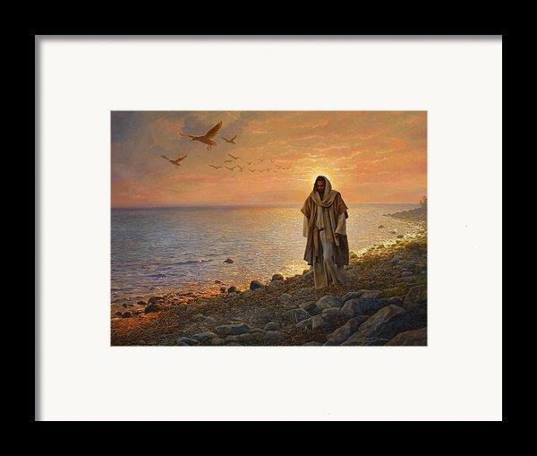 In The World Not Of The World Framed Print By Greg Olsen