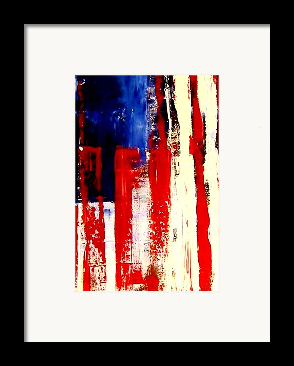 Independence Day Framed Print By Charles Jos Biviano